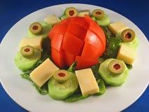 Garten-Salat Lizenzfreies Stockfoto