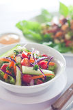 Garten-Salat Lizenzfreie Stockfotografie