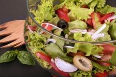 Garten-Salat Stockbild