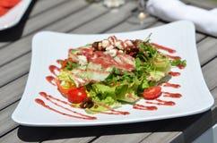 Garten-Salat - Gemüse/Früchte Lizenzfreies Stockfoto