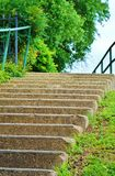Garten-Schritte Lizenzfreie Stockbilder