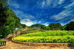 Garten Singapur-Terrac Lizenzfreie Stockfotografie