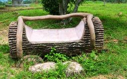 Garten-Sitzecke stockfotos