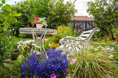Garten am Sommer Lizenzfreie Stockfotografie
