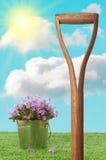 Garten-Spaten stockbilder