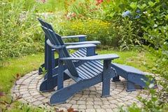 Garten-Stühle Lizenzfreie Stockfotografie