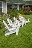 Garten-Stühle Stockfotos