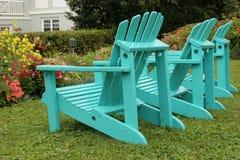 Garten-Stühle Lizenzfreie Stockbilder
