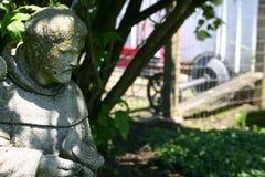 Garten-Statuen-Heiliges in der Tageszeit lizenzfreies stockbild