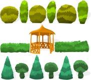 Garten stellte 02 ein Lizenzfreies Stockbild
