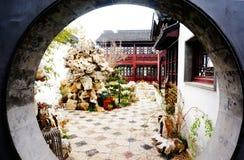 Garten, Suzhou Lizenzfreie Stockfotografie