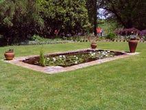 Garten-Teich Stockbilder