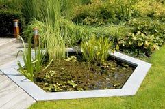 Garten-Teich Stockfotos