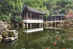 Garten-Tempel Chinas Suzhou Lizenzfreies Stockfoto