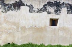 Garten- und Blockwand Stockfotos