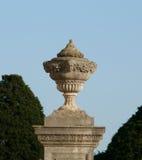 Garten-Urne. Stockfoto