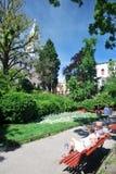 Garten in Venedig Lizenzfreies Stockbild