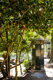 Garten von Bom Jesus in Braga Stockfotografie