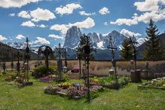 Garten von Kirche Sans Giacomo Lizenzfreies Stockbild
