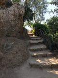 Garten von Kolymbethra Stockbild