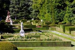 Garten von La Granja de San Ildefonso Lizenzfreies Stockfoto