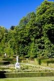 Garten von La Granja de San Ildefonsos Stockbilder