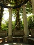 Garten von Royal Palace von Aranjuez Stockfotos