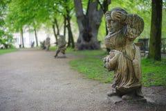 Garten von Zwergen Stockfotografie