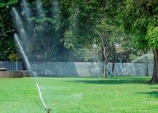 Garten wässert Stockfoto