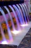 Garten-Wasserfall Stockfotos