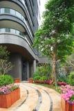Garten Wohn in China stockfotografie