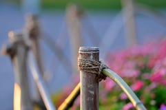 Garten-Zaun Stockfotografie
