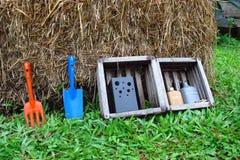 Garten-Zusammenfassung Stockfoto
