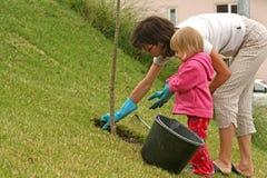 Gartenarbeit Stockfotos