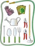 Gartenarbeit-Hilfsmittel vektor abbildung