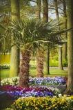 Gartenarbeit und Landschaftsgestaltung Stockfotografie