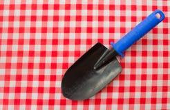 Gartenarbeithilfsmittel neu, Stocktellersegment Lizenzfreie Stockfotos