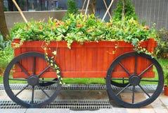 Gartenarbeitwagen stockfoto