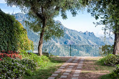 Gartenaussicht, Ravello, Italien Lizenzfreies Stockbild