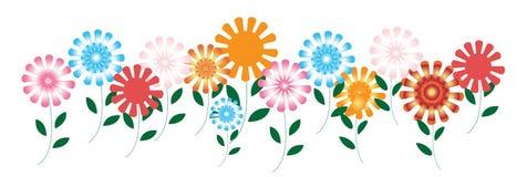 Gartenblumen stock abbildung
