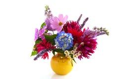 Gartenblumenblumenstrauß Lizenzfreie Stockfotos