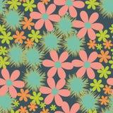 Gartenblumenmuster Lizenzfreie Stockfotografie