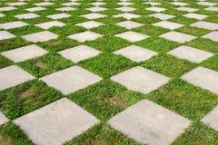 Gartenboden Stockbild