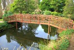 Gartenbrücke Lizenzfreies Stockbild