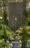 Gartenbrunnen Stockbild