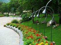 Gartendekorationen Stockbilder