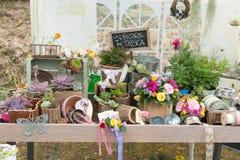 Gartendekorationen Stockfotografie