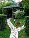 Gartendorn Stockbild