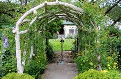 Garteneingang Stockbild