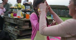 Gartenfest-Spaß